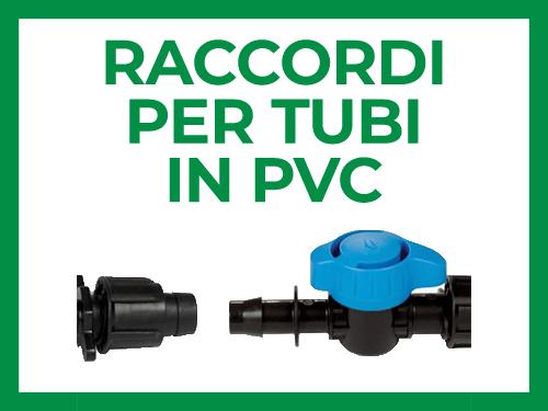 Raccordi per tubi PVC